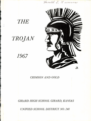Page 5, 1967 Edition, Girard Rural High School - Trojan Yearbook (Girard, KS) online yearbook collection