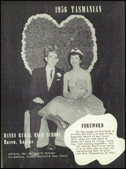 Page 7, 1956 Edition, Haven High School - Tasmanian Yearbook (Haven, KS) online yearbook collection