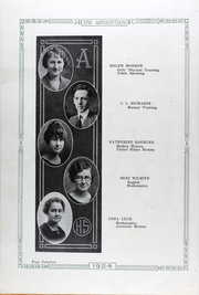 Page 17, 1924 Edition, Argentine High School - Mustang Yearbook (Kansas City, KS) online yearbook collection