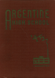 1945 Edition, Argentine High School - Mustang Yearbook (Kansas City, KS)
