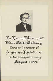 Page 9, 1950 Edition, Argentine High School - Mustang Yearbook (Kansas City, KS) online yearbook collection