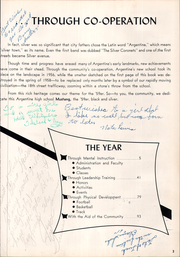 Page 7, 1959 Edition, Argentine High School - Mustang Yearbook (Kansas City, KS) online yearbook collection