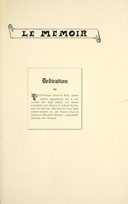 Page 13, 1920 Edition, Eureka High School - Le Memoir Yearbook (Eureka, KS) online yearbook collection