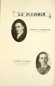 Page 16, 1920 Edition, Eureka High School - Le Memoir Yearbook (Eureka, KS) online yearbook collection