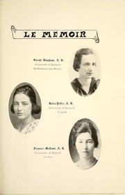 Page 17, 1920 Edition, Eureka High School - Le Memoir Yearbook (Eureka, KS) online yearbook collection
