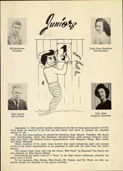 Page 15, 1947 Edition, Eureka High School - Le Memoir Yearbook (Eureka, KS) online yearbook collection