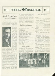 Page 3, 1931 Edition, Kingman High School - Oracle Yearbook (Kingman, KS) online yearbook collection