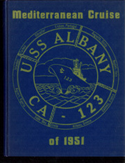 1951 Edition, Albany (CA 123) - Naval Cruise Book