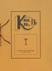 1916 Edition, Caney Valley High School - Kane Kan Yearbook (Caney, KS)