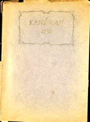 1934 Edition, Caney Valley High School - Kane Kan Yearbook (Caney, KS)