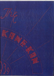 1939 Edition, Caney Valley High School - Kane Kan Yearbook (Caney, KS)