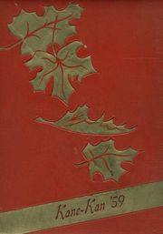 1959 Edition, Caney Valley High School - Kane Kan Yearbook (Caney, KS)