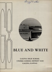 Page 5, 1968 Edition, Galena High School - Blue and White Yearbook (Galena, KS) online yearbook collection