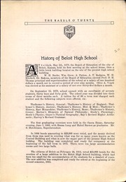 Page 11, 1920 Edition, Beloit High School - Trojan Yearbook (Beloit, KS) online yearbook collection