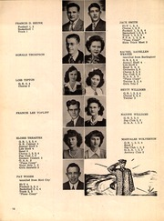 Page 16, 1944 Edition, Beloit High School - Trojan Yearbook (Beloit, KS) online yearbook collection