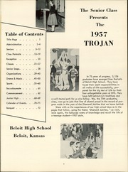 Page 5, 1957 Edition, Beloit High School - Trojan Yearbook (Beloit, KS) online yearbook collection