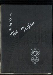 Beloit High School - Trojan Yearbook (Beloit, KS) online yearbook collection, 1959 Edition, Page 1