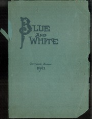 1921 Edition, Cherryvale High School - Echo Yearbook (Cherryvale, KS)