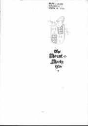 Page 2, 1924 Edition, Rosedale High School - Mounty Marty Yearbook (Kansas City, KS) online yearbook collection