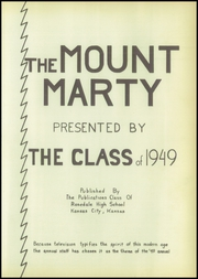 Page 7, 1949 Edition, Rosedale High School - Mounty Marty Yearbook (Kansas City, KS) online yearbook collection