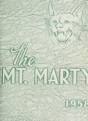 1958 Edition, Rosedale High School - Mounty Marty Yearbook (Kansas City, KS)