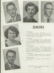 Page 10, 1952 Edition, Belle Plaine Rural High School - Dragon Yearbook (Belle Plaine, KS) online yearbook collection