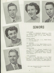 Page 12, 1952 Edition, Belle Plaine Rural High School - Dragon Yearbook (Belle Plaine, KS) online yearbook collection
