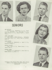 Page 13, 1952 Edition, Belle Plaine Rural High School - Dragon Yearbook (Belle Plaine, KS) online yearbook collection