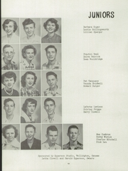 Page 14, 1952 Edition, Belle Plaine Rural High School - Dragon Yearbook (Belle Plaine, KS) online yearbook collection