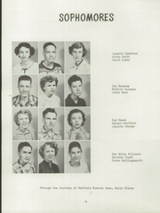 Page 16, 1952 Edition, Belle Plaine Rural High School - Dragon Yearbook (Belle Plaine, KS) online yearbook collection