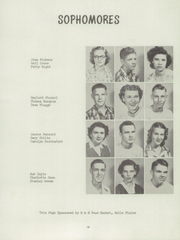 Page 17, 1952 Edition, Belle Plaine Rural High School - Dragon Yearbook (Belle Plaine, KS) online yearbook collection