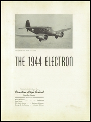 Page 7, 1944 Edition, Riverton High School - Electron Yearbook (Riverton, KS) online yearbook collection