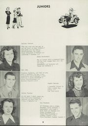 Page 13, 1949 Edition, Plainville High School - Cardinal Yearbook (Plainville, KS) online yearbook collection