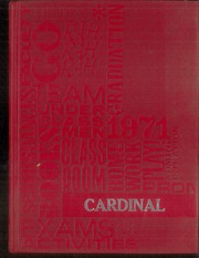 1971 Edition, Plainville High School - Cardinal Yearbook (Plainville, KS)