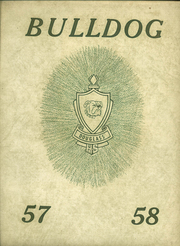 1958 Edition, Douglass High School - Bulldog Yearbook (Douglass, KS)