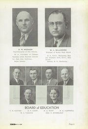 Page 11, 1939 Edition, Yates Center High School - Wildcat Yearbook (Yates Center, KS) online yearbook collection