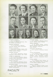 Page 12, 1939 Edition, Yates Center High School - Wildcat Yearbook (Yates Center, KS) online yearbook collection