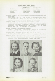 Page 15, 1939 Edition, Yates Center High School - Wildcat Yearbook (Yates Center, KS) online yearbook collection
