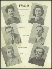 Page 12, 1951 Edition, Yates Center High School - Wildcat Yearbook (Yates Center, KS) online yearbook collection
