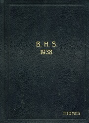 1938 Edition, Belleville High School - Buffalo Yearbook (Belleville, KS)