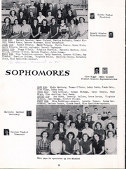Page 16, 1952 Edition, Trego Community High School - Golden Eagle Yearbook (WaKeeney, KS) online yearbook collection