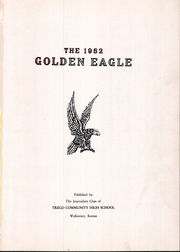 Page 5, 1952 Edition, Trego Community High School - Golden Eagle Yearbook (WaKeeney, KS) online yearbook collection