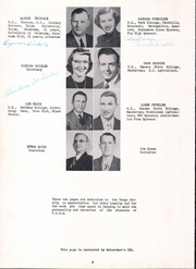 Page 8, 1952 Edition, Trego Community High School - Golden Eagle Yearbook (WaKeeney, KS) online yearbook collection