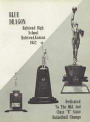 Page 5, 1952 Edition, Halstead High School - Dragon Yearbook (Halstead, KS) online yearbook collection