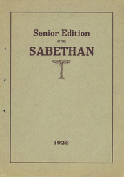 Page 1, 1925 Edition, Sabetha High School - Blue Jay Yearbook (Sabetha, KS) online yearbook collection