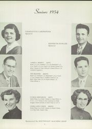 Page 17, 1954 Edition, Elkhart High School - Wildcat Yearbook (Elkhart, KS) online yearbook collection