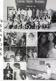 Page 16, 1975 Edition, Lakin High School - Bronc Yearbook (Lakin, KS) online yearbook collection
