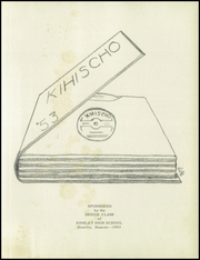 Page 5, 1953 Edition, Kinsley High School - Kihischo Yearbook (Kinsley, KS) online yearbook collection