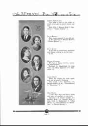 Page 13, 1925 Edition, Marion High School - Warrior Yearbook (Marion, KS) online yearbook collection