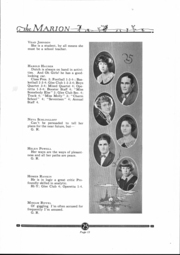 Page 14, 1925 Edition, Marion High School - Warrior Yearbook (Marion, KS) online yearbook collection